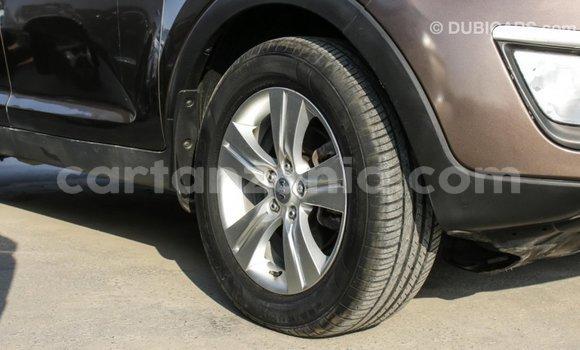 Buy Import Kia Sportage Brown Car in Import - Dubai in Arusha