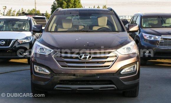 Buy Import Hyundai Santa Fe Brown Car in Import - Dubai in Arusha