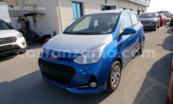 Buy Import Hyundai i10 Blue Car in Import - Dubai in Arusha