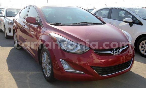 Buy Import Hyundai Elantra Red Car in Import - Dubai in Arusha