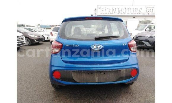 Buy Import Hyundai i10 Blue Car in Import - Dubai in Arusha