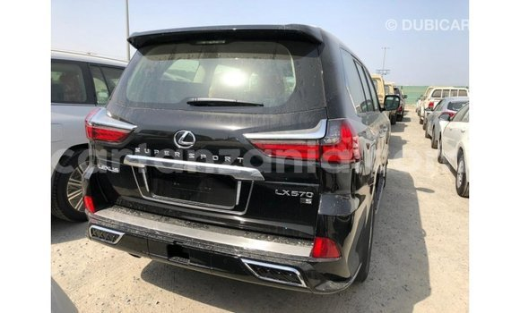 Buy Import Lexus LX Black Car in Import - Dubai in Arusha