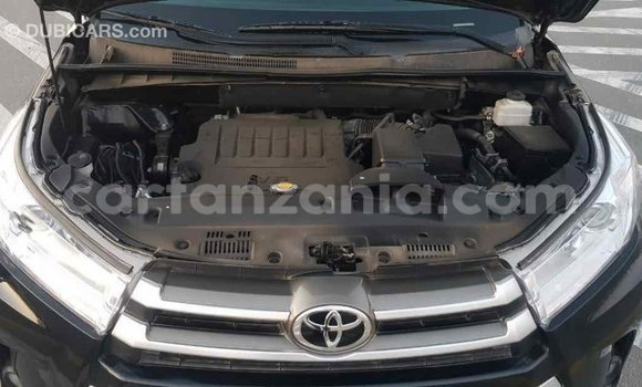 Buy Import Toyota Highlander Black Car in Import - Dubai in Arusha
