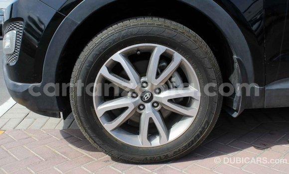 Buy Import Hyundai Santa Fe Black Car in Import - Dubai in Arusha