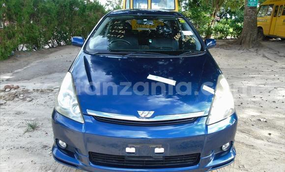 Buy New Toyota Wish Blue Car in Dar es Salaam in Dar es Salaam