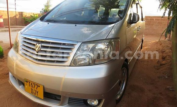 Buy Used Toyota Alphard Silver Car in Karatu in Arusha