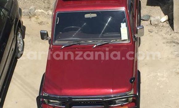 Buy Used Toyota Prado Red Car in Karatu in Arusha