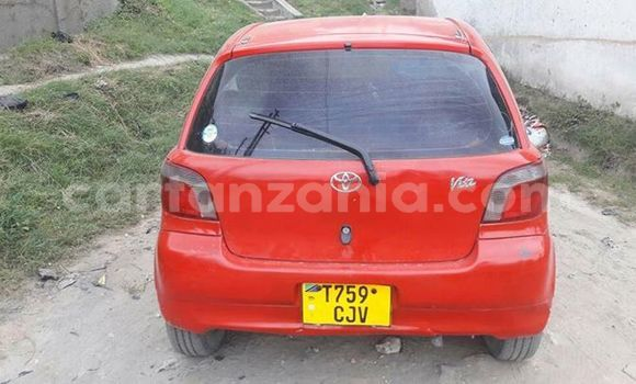Buy Used Toyota Vitz Red Car in Karatu in Arusha