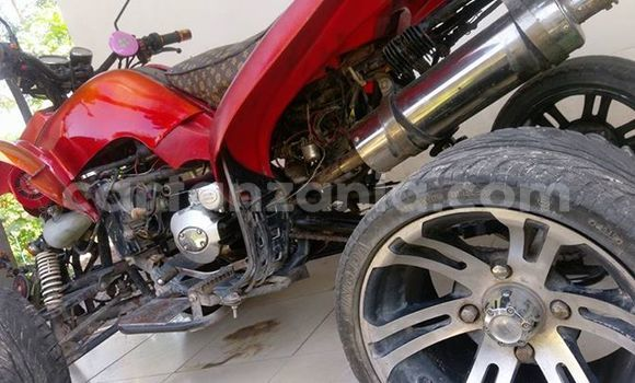 Buy Used Suzuki GSX–R Red Bike in Temeke in Dar es Salaam