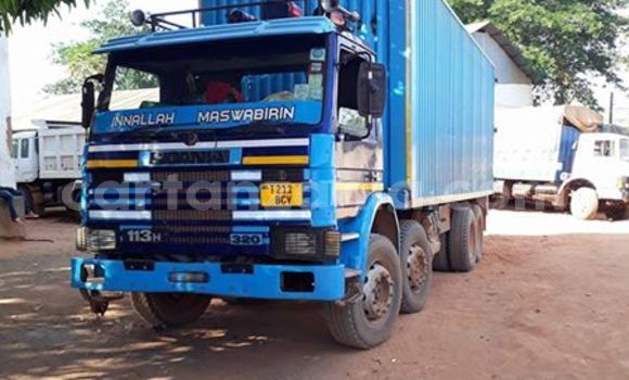 Buy Used Scania 113-320 Blue Truck in Dar es Salaam in Dar es Salaam