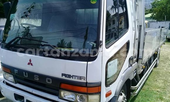 Buy Used Mitsubishi Fuso Fighter White Truck in Dar es Salaam in Dar es Salaam