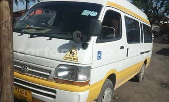 Buy Used Toyota Hiace White Car in Dar es Salaam in Dar es Salaam