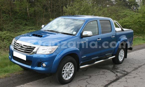 Buy Used Toyota Hilux Blue Car in Dar es Salaam in Dar es Salaam