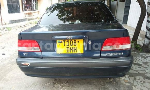Buy Used Toyota Carina Blue Car in Dar es Salaam in Dar es Salaam