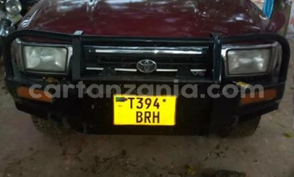 Buy Used Toyota Surf Red Car in Dar es Salaam in Dar es Salaam
