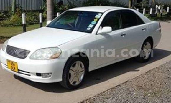 Buy Used Toyota Mark II White Car in Dar es Salaam in Dar es Salaam