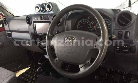 Buy Used Toyota Land Cruiser Prado Red Car in Dar es Salaam in Dar es Salaam