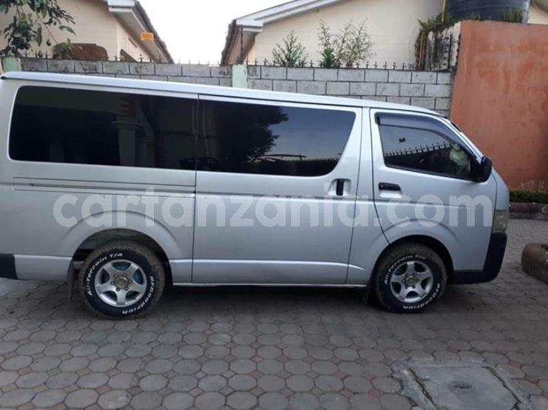 Buy Used Toyota Hiace Silver Car in Arusha in Arusha