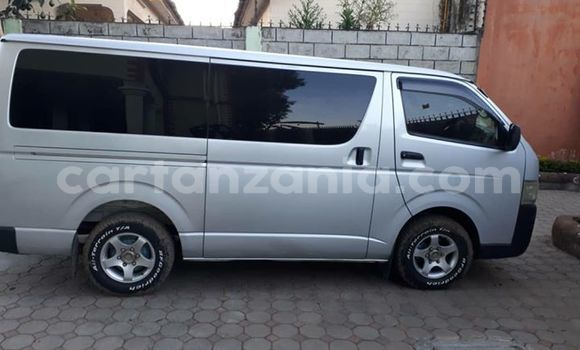 Buy Used Toyota Hiace Silver Car in Arusha in Arusha