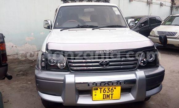 Buy Used Toyota Prado White Car in Dar es Salaam in Dar es Salaam
