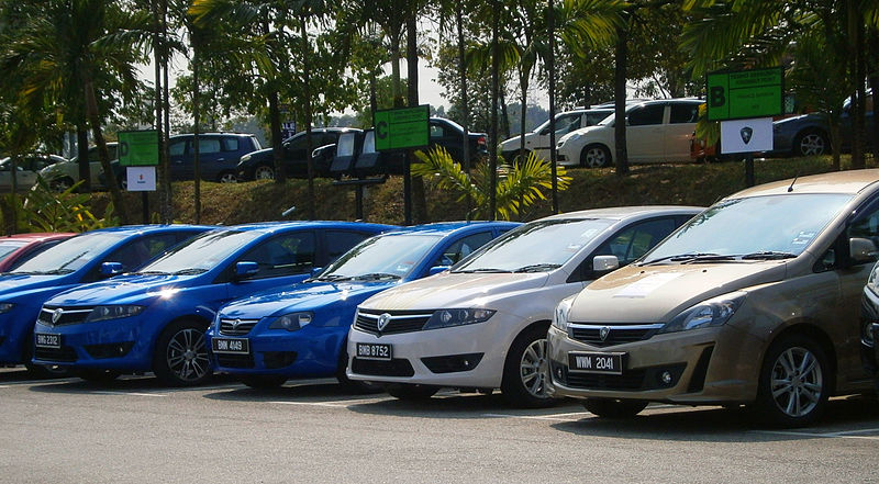 Proton test drive cars left to right suprima s persona sv prev cfe exora bold cfe in glenmarie malaysia